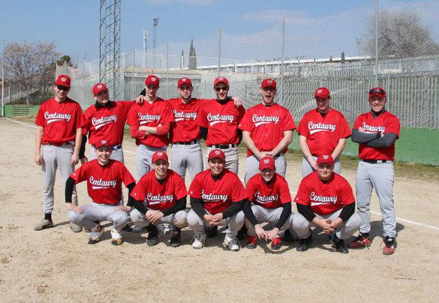 Drużyna Centaurów na Spring Training 2010